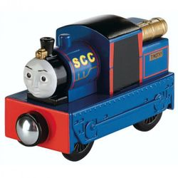 Timothy | Lokomotive | Mattel BDG07 | Holzeisenbahn | Thomas & seine Freunde 001