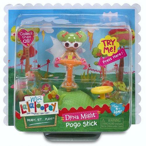 Springstock Dyna Might | 7cm | Lalaloopsy | Puppe | Mini Welt Spiel Set – Bild 2
