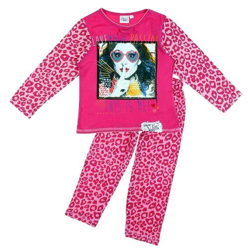 Mädchen Schlafanzug | Violetta | Music Motiv | Größe 104 - 140 Pyjamas – Bild 3