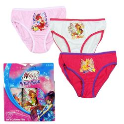 3-er Pack Slip | Winx Club | Mädchen Unterwäsche | Unterhosen | Gr. 92-122