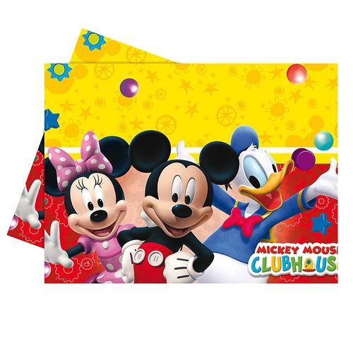 Tischdecke Mickey Mouse | Tischtuch 120 x 180 cm | Micky Maus | Geburtstag