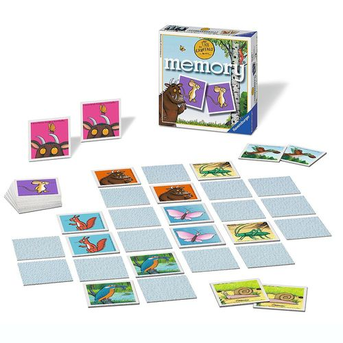 Mini Memory® Spiel | Der Grüffelo | 48 Bildkarten | Ravensburger 22279 – Bild 2