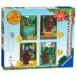 Puzzle Box 4 in 1 | Der Grüffelo | Abenteuer im Wald | Ravensburger 07157 001