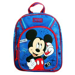 Micky Maus - Kinder Rucksack - Let's Go Mickey Mouse - Farbe blau 31x25x12cm – Bild 1