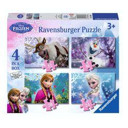 Kinder Puzzle Box | 4 in 1 | Disney Eiskönigin | Frozen | Ravensburger 001