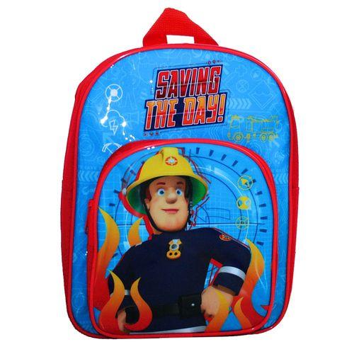 Kinder Rucksack | Saving the Day | Feuerwehrmann Sam | 31 x 24 x 11 cm