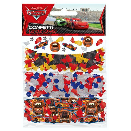 3 in 1 Konfetti | Disney Cars | Party Tisch-Dekoration | Kinder Geburtstag