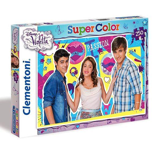 Kinder Puzzle | 250 Teile | Violetta | Clementoni | Motiv Tomas & Leon – Bild 1