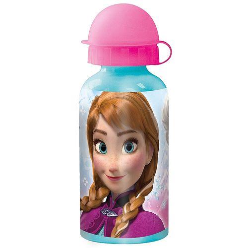 Alu-Trinkflasche 400 ml | Disney Eiskönigin | Frozen | Sport-Aluminium-Flasche