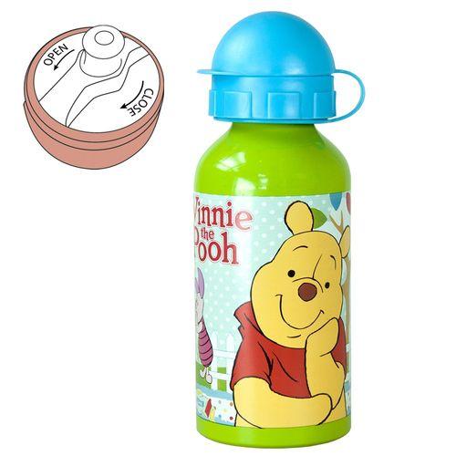 Alu-Trinkflasche Pooh Woodland | 400 ml | Winnie Puuh | Sport-Aluminium-Flasche