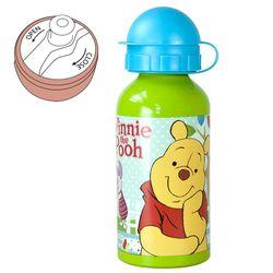 Alu-Trinkflasche Pooh Woodland | 400 ml | Winnie Puuh | Sport-Aluminium-Flasche 001