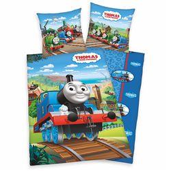 Wende Bettwäsche | Baumwolle 135 x 200 cm | Thomas und seine Freunde | Garnitur 001