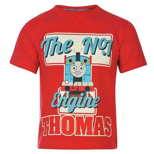 T-Shirt  | Thomas & seine Freunde | rot | Kleine Lokomotive | Größe 92-104