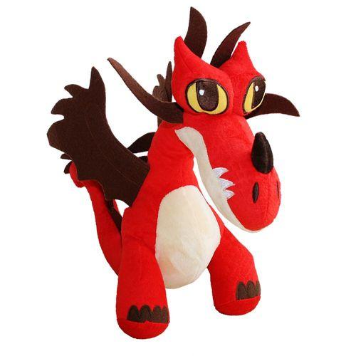 Hakenzahn Drache | Plüsch Figur | 25x13x28 cm | DreamWorks Dragons | Hookfang