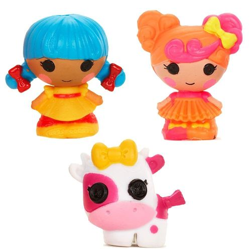 Minipuppen | 3er Pack | Lalaloopsy TINIES | Puppen | Design 4