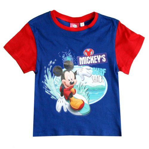 T-Shirt Mickey Mouse | Micky Maus | Baumwolle | Farbauswahl | Größe 86 - 116 – Bild 2