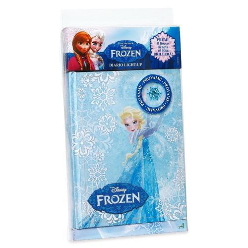 Kinder Tagebuch | mit Lichteffekten | Disney Eiskönigin | Frozen