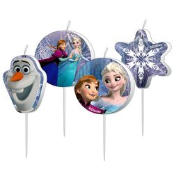 Torten Kerzen | Disney Eiskönigin | Frozen | Party Set | Kuchen-Dekoration 001