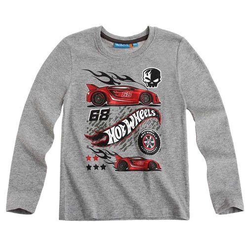 Langarm Shirt Kinder | Pullover Jungen | Hot Wheels | Farbauswahl | 104 - 140 – Bild 2
