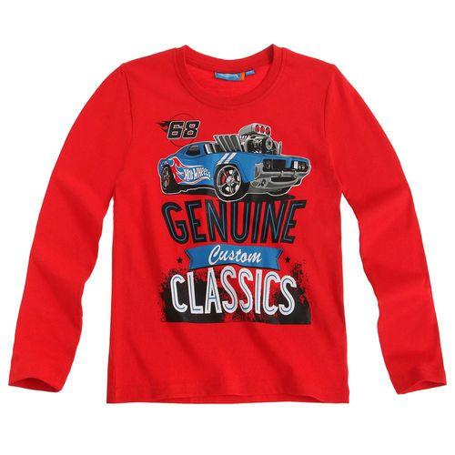 Langarm Shirt Kinder | Pullover Jungen | Hot Wheels | Farbauswahl | 104 - 140 – Bild 4