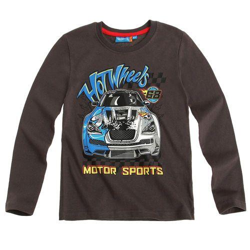 Langarm Shirt Kinder | Pullover Jungen | Hot Wheels | Farbauswahl | 104 - 140 – Bild 3