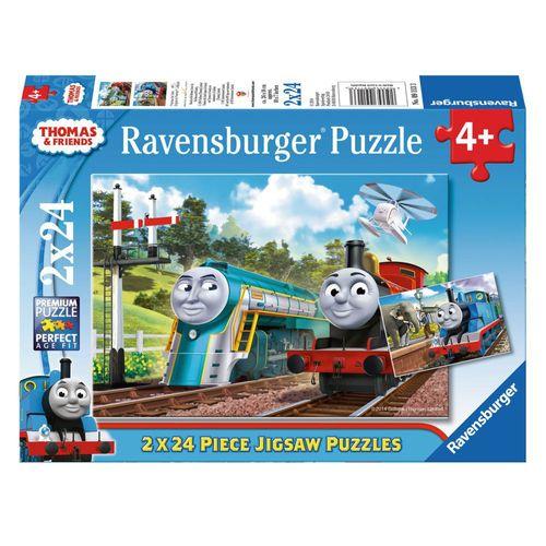 Puzzle Box | 2 x 24 Teilel | Thomas & seine Freunde |  Ravensburger | Legespiel – Bild 1
