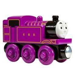 Ryan | Lokomotive | Mattel CDJ04 | Holzeisenbahn | Thomas & seine Freunde