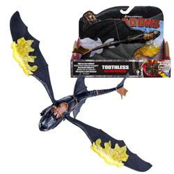 Ohnezahn Flammenflügel Drache | Action Spiel Set | DreamWorks Dragons 001