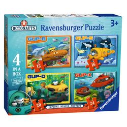 Puzzle Box 4 in 1 | Die Oktonauten | Guppy | Ravensburger 07022