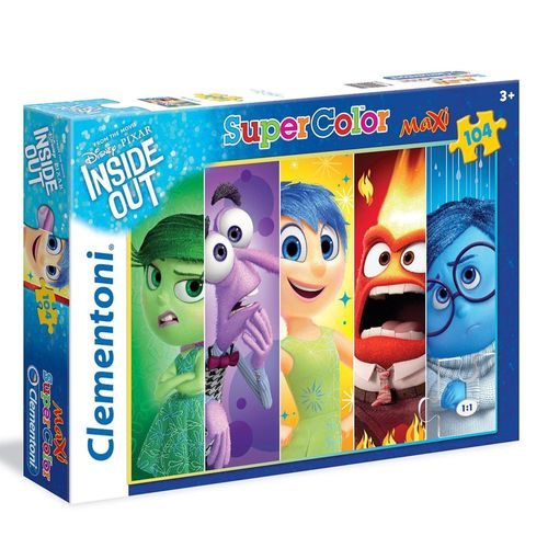 Kinder Puzzle | Maxi 104 Teile | Alles steht Kopf |  | Clementoni – Bild 1