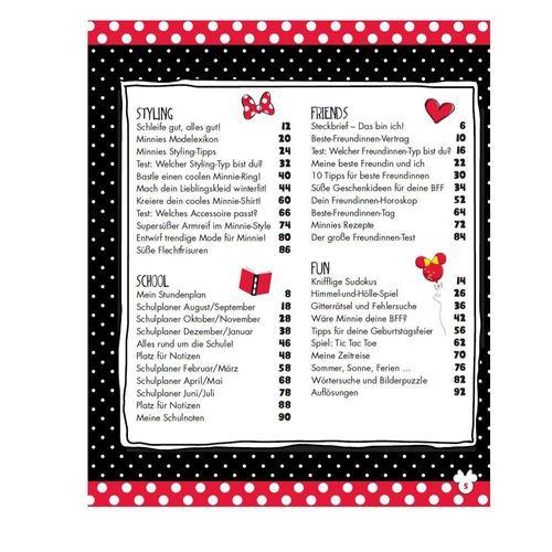 Mein Minnie-Buch für die Schule | Minnie Maus | Buch | Terminkalender – Bild 2