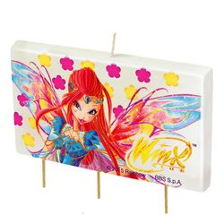 Winx Club - Bloomix - Kuchen Dekoration - Kerze - Party Kinder Geburtstag