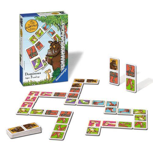 Domino Legespiel | Der Grüffelo |  Spiel 28 Karten | Ravensburger 22277 – Bild 2