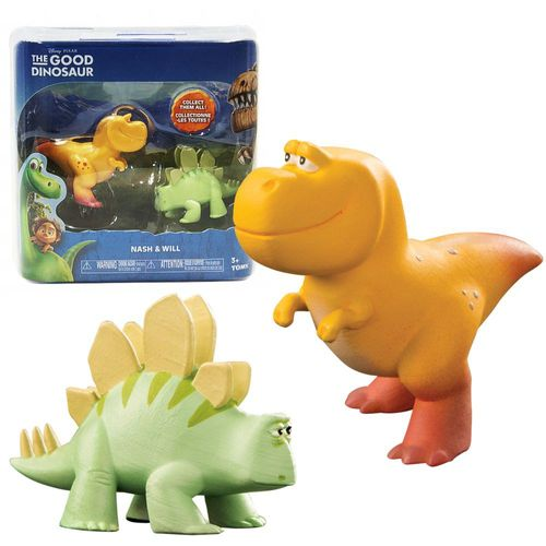 Arlo & Spot Disney Good Dinosaur - Dinosaurier Figuren Set Nash & Will