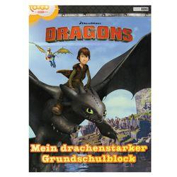 Mein drachenstarker Grundschulblock | DreamWorks Dragons | Malen, Rästel & Spiele