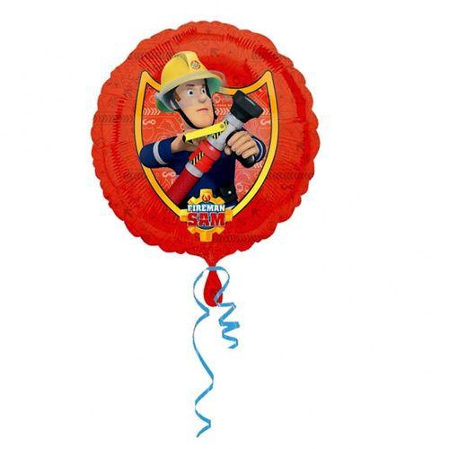 Im Einsatz | Folien Ballon 45 cm | Feuerwehrmann Sam | Kinder Party Geburtstag