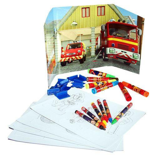 Activity Spass | 34 Teile | Feuerwehrmann Sam | Kinder Kreativ Set – Bild 2