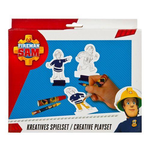 Activity Spass | 34 Teile | Feuerwehrmann Sam | Kinder Kreativ Set – Bild 1