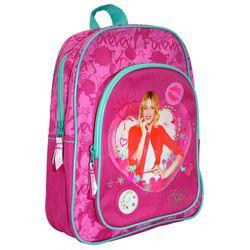 Pinker Mädchen Rucksack | Violetta | mit Fronttasche | 31 x 25 x 11 cm 001