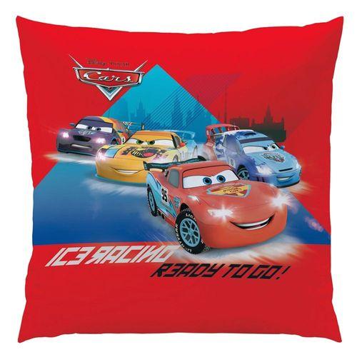 Ice Racer | Kinder Kissen 40 x 40 cm | Disney Cars | Kuschelkissen | Dekokissen – Bild 3