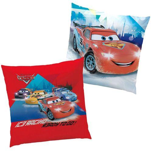 Ice Racer | Kinder Kissen 40 x 40 cm | Disney Cars | Kuschelkissen | Dekokissen – Bild 1