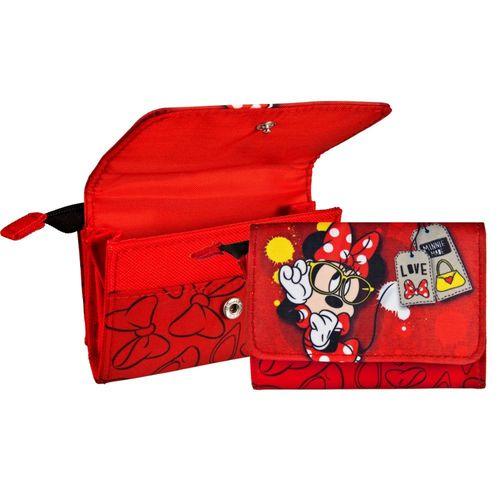 Mädchen Geldbörse | Kinder Portemonnaie | Etui | Minnie Maus | Minnie Mouse – Bild 1