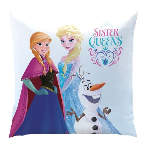 Sisters | Kinder Kissen 40 x 40 cm | Disney Eiskönigin | Frozen | Dekokissen – Bild 2