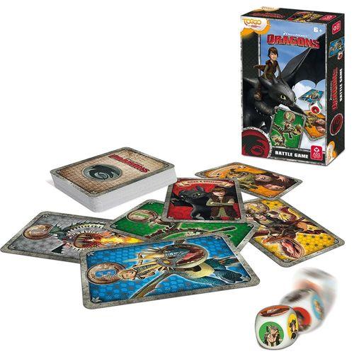 Battle Game | Würfelspiel |  Dragons Dreamwork | Kinder Karten Spiel