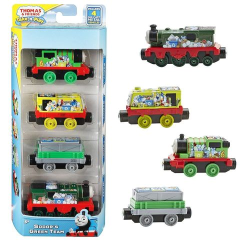 Whiff, Scruff, Percy | Set | Mattel DGF89 | Take-n-Play | Thomas & seine Freunde
