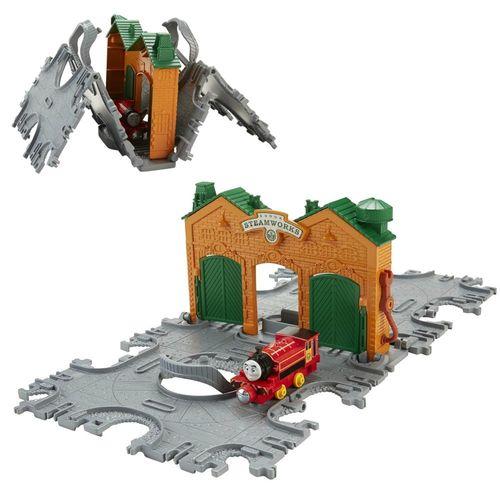 Victor & Dampffabrik   Mattel CJM58   Take-n-Play   Thomas & seine Freunde – Bild 1