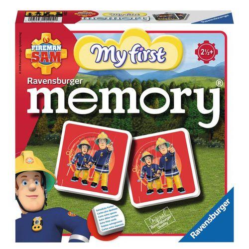 First Memory® Spiel | 24 Bildkarten | Feuerwehrmann Sam | Kinder Legespiel – Bild 1