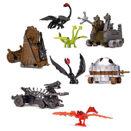 Auswahl Battle Drachen Set | Action Spiel Set | DreamWorks Dragons  – Bild 1
