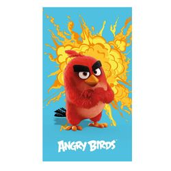 Angry Birds - Kinder Badetuch Strandtuch Handtuch Red 70x120 cm