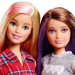 Barbie - Familie 2-er Pack Puppen Schwestern Barbie & Skipper – Bild 2